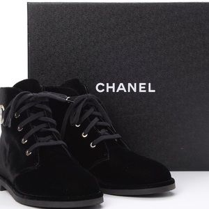 Chancel Velvet Booties